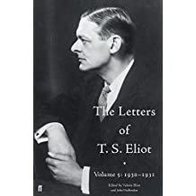 The Letters of T. S. Eliot Volume 5: 1930-1931