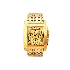Oskar Emil Padova Gold Gold – Reloj para Hombres, Correa de Acero Inoxidable Color Plateado