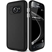 Samsung Galaxy S7 Case, VRS Design® [Black] Ultra Slim Non Slip Matte Skin Cover [Single Fit] Scratch Resistant Full Body Protection Premium TPU Phone Case for Galaxy S7 (2016)
