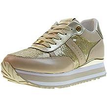 c965ab6e4ef8e Apepazza Scarpe Donna Sneakers Basse con Zeppa Interna RSD29 PAILLETTES Rica