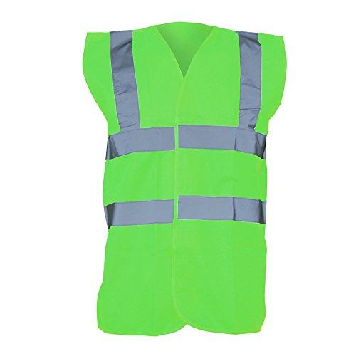 Yoko - Gilet Alta Visibilità - Unisex (L) (Verde lime)