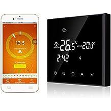 16A termostato inteligente controlado por smartphone APP - LCD Pantalla Táctil - WIFI inalambrico termostato programable digital - 2 opciones
