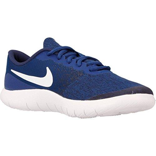 Nike Flex Contact Gs, Chaussures de Fitness Fille blue