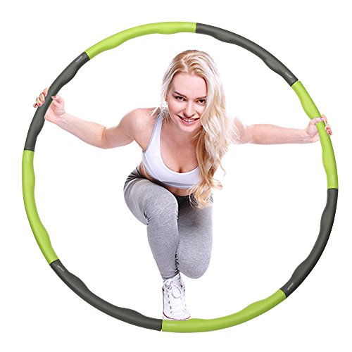 ancheer-fitness-hula-hoop-medium-weight-weighted-hula-1kg-with-40-massage-magnet-balls