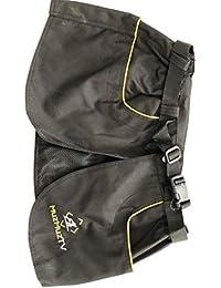 MuzMuzTV - Falda de Entrenamiento para Perro, Color Negro Negro Negro Small