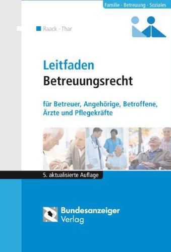Cover »Leitfaden Betreuungsrecht«