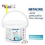 Metacril oxygène Actif en pastilles de 20 g - Oxi Net 20 kg. 3 - Idéal pour Piscine...