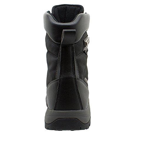 Kefas - K-Warm 3219 - Bottes de neige Femme - Semelle Ice Lock et doublure Thinsulate Noir