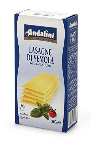 Andalini La Sovrana Lasagne Di Semola Di Grano Duro, 500g