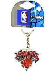 PORTE CLES NEW YORK KNICKS OFFICIEL METAL BASKETBALL NBA