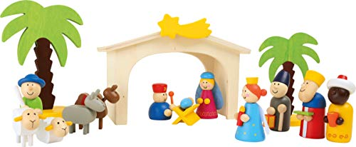 small foot 3945 Holzkrippe Spielset