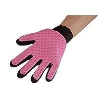 Gant Magic Brosse de nettoyage pour animaux de compagnie (Pink, Right Hand)