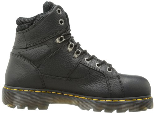 Dr Boot Mens Martens St Industriale industrial Lavoro Dr Vasta Grigio Grizzly Ironbridge St Avvio Nero Ironbridge Black Work Wide Martens Mens nrrxqP