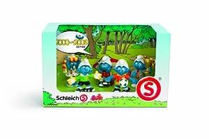 Schleich - 41259 - Figurine - Coffret Schtroumpfs 00-09