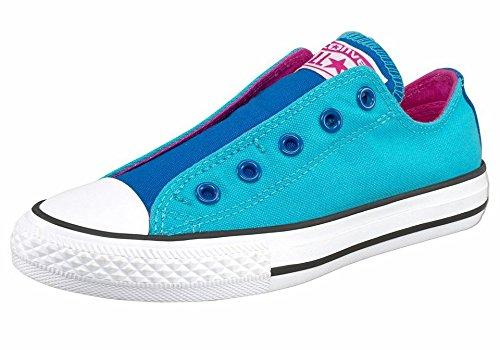 Converse  Ctas Slip, Mocassins pour fille multicolore bleu Bleu