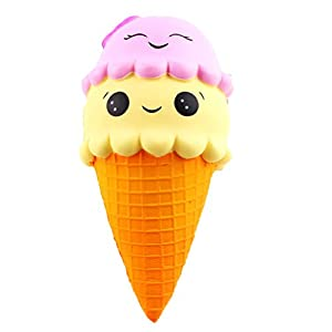 Kfnire 1pz 9 '' jumbo helado squishes juguete estrés alivio suave juguete lento aumento juguetes de Kfnire