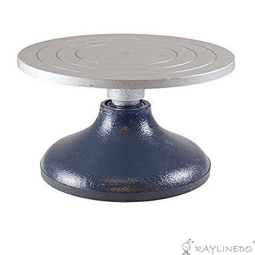 RayLineDo?Ruota girevole per ceramica/argilla in metallo, 180mm di diametro