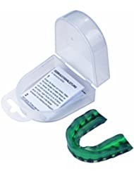 Hammer 88001 - Protector dental para boxeo, color verde
