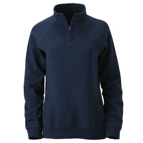 Ouray Sportswear Dee-Lite 1/4 Zip, Navy, X-Large -