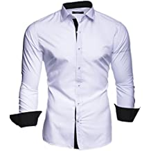 "Kayhan Hombre Camisa Slim Fit Modello ""Twoface"""