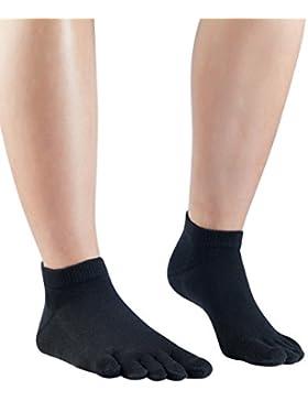 Knitido Everyday Essentials Sneaker | luftig kurze Zehensocken aus Baumwolle für den Alltag in 5 Farbvarianten
