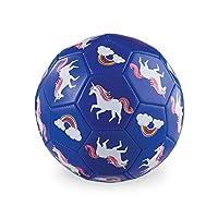 "Crocodile Creek - Rainbow Unicorn - Kids Soccer Ball, 7"" Size 3, 1 EA"