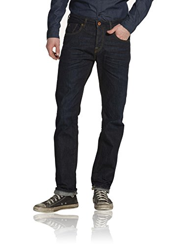 Scotch & Soda Herren Relaxed Jeanshose 15060685351 Vernon - Touchdown Blau (denim blue 48)