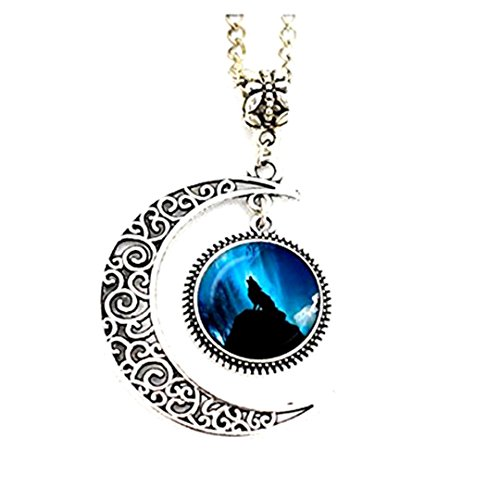 moon-howling-wolf-pendant-necklace-ful-moon-necklace-glass-pendant-jewelry-picture-pendant