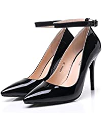 Beautiful bridal shoes Scarpe da Donna - Europa e Stati Uniti Sexy Super  High-Heeled 10cm   12cm - Multa Nera con… 27406c8fb2c