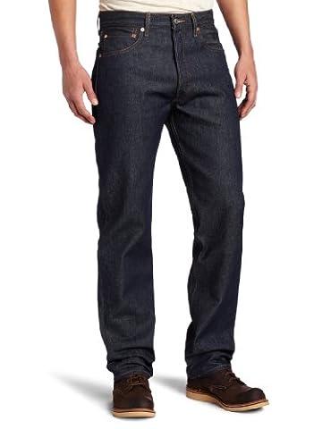 Levis - ® 501 ® Strauss Button Fly Original Jeans Shrink-to-Fit ® (00501 bis 0000), 29W x 30L, Rigid (Strauß Denim)