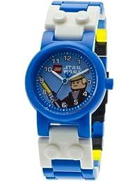 Lego - 9002892 - Star Wars Luke Skywalker - Coffret Cadeau - Montre Enfant - Quartz Analogique - Bracelet Plastique + Figurine