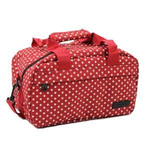 members-essential-on-board-ryanair-compliant-second-hand-baggage-in-red-white-polka-dot