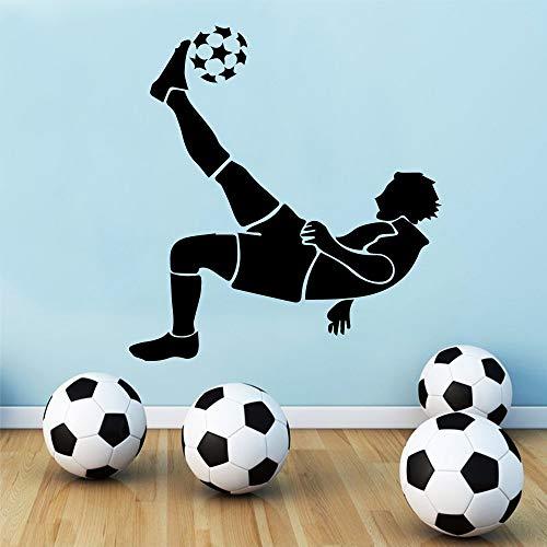 (Shentop Exquisite fußball wandaufkleber für Jungen Schlafzimmer Dekoration fußball Aufkleber tapete Wohnzimmer kinderzimmer wanddekor murals 58 * 62 cm)