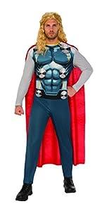 Marvel - Disfraz de Thor 2 para hombre, Talla M adulto (Rubie