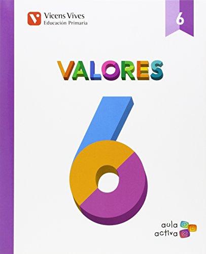 Valores 6 (aula Activa) - 9788468228105 por Emma Arocas Sanchis