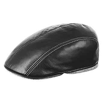 fbd58c16650 Thomte Flat Cap Lierys winter caps men ´s cap (62 cm - black ...