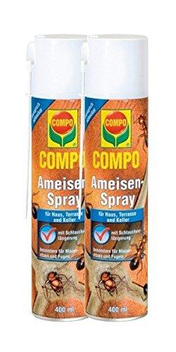 Compo hormigas de spray 2x 400ml