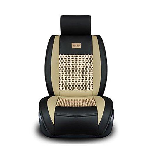 Car Cushion Pad Fit Für Die Meisten Autos Einzigen Sommer Kühlen Sitzkissen Four Seasons General Umgeben Auto Sitzbezug,Orange (Die Hälfte Sitzkissen)