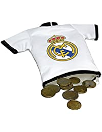 REAL MADRID CF® Monedero Camiseta con Mosquetón