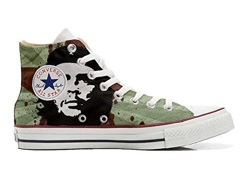 Converse Customized Adulte - chaussures coutume (produit artisanal) Che Guevara