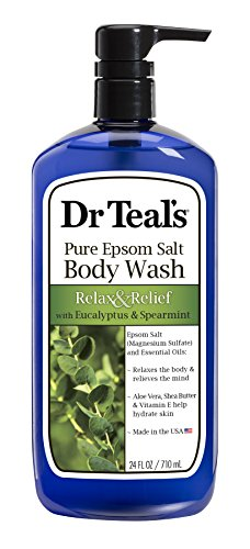Dr. Teal's Ultra Moisturizing Body Wash Relax and Relief with Eucalyptus Spearmint, 24 Fluid Ounce by Dr. Teal's -