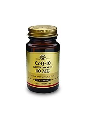 Solgar 60 mg Coenzyme Q-10 Softgels - Pack of 30 by Solgar