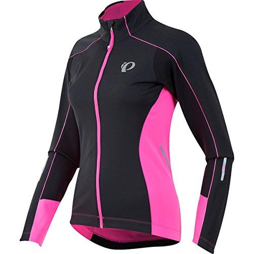 Pearl Izumi Elite Pursuit Damen Softshell Fahrrad Winter/Regenjacke schwarz/pink 2017
