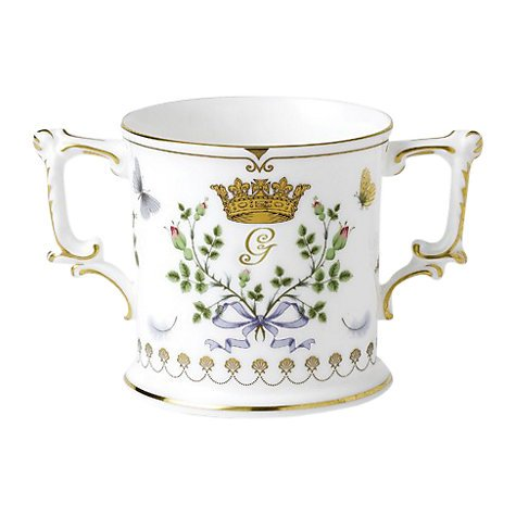 Royal Crown Derby-Prince George-Royal Baby Loving Cup-Edition of 1500 Derby-cup