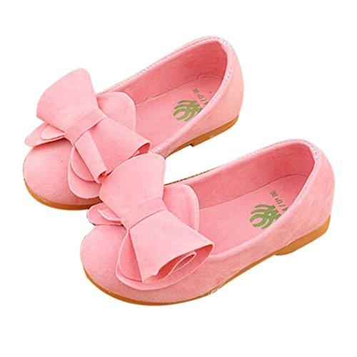 hunpta , Baby Mädchen Lauflernschuhe rosa rose 22 - Rosa Wellies