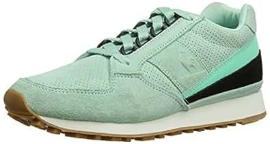 Le Coq Sportif Eclat Nubuck, Chaussons Sneaker Adulte Mixte - Vert (Pastel Lichen), 36 EU