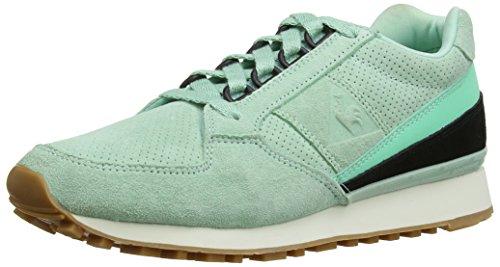Le Coq Sportif Eclat Nubuck, Chaussons Sneaker Adulte Mixte Vert (Pastel Lichen)