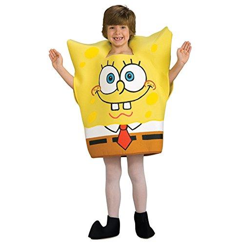 Spongebob Schwammkopf-Kostüm für Kinder 110/116 (5-6 Jahre)