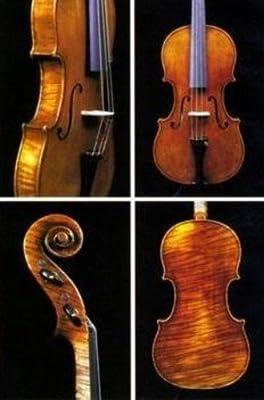 VIOLA - Jay Haide (Stradivari Antique) (Luthier) (Tapa Pino Abeto Macizo de Calidad) 16