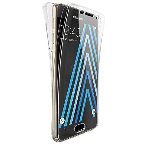 Cophone® Coque 360 degrès TRANSPARENTE en Gel Samsung Galaxy A3